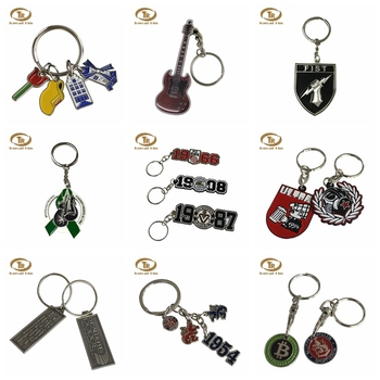 Customized logo shopping cart coin key chain quarter and loonie trolley cart token coin keyring