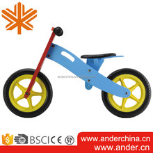 Form Wheel Manufacture Wholesales Wooden Kids Cool Balance Bike
