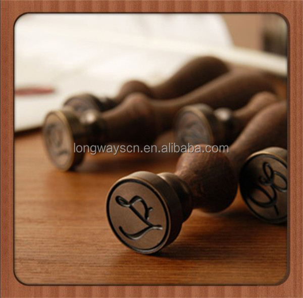 Roman E Custom Fashionable Wax Seal Custom Logo Collection Copper Stamp seal Wax For Stamp