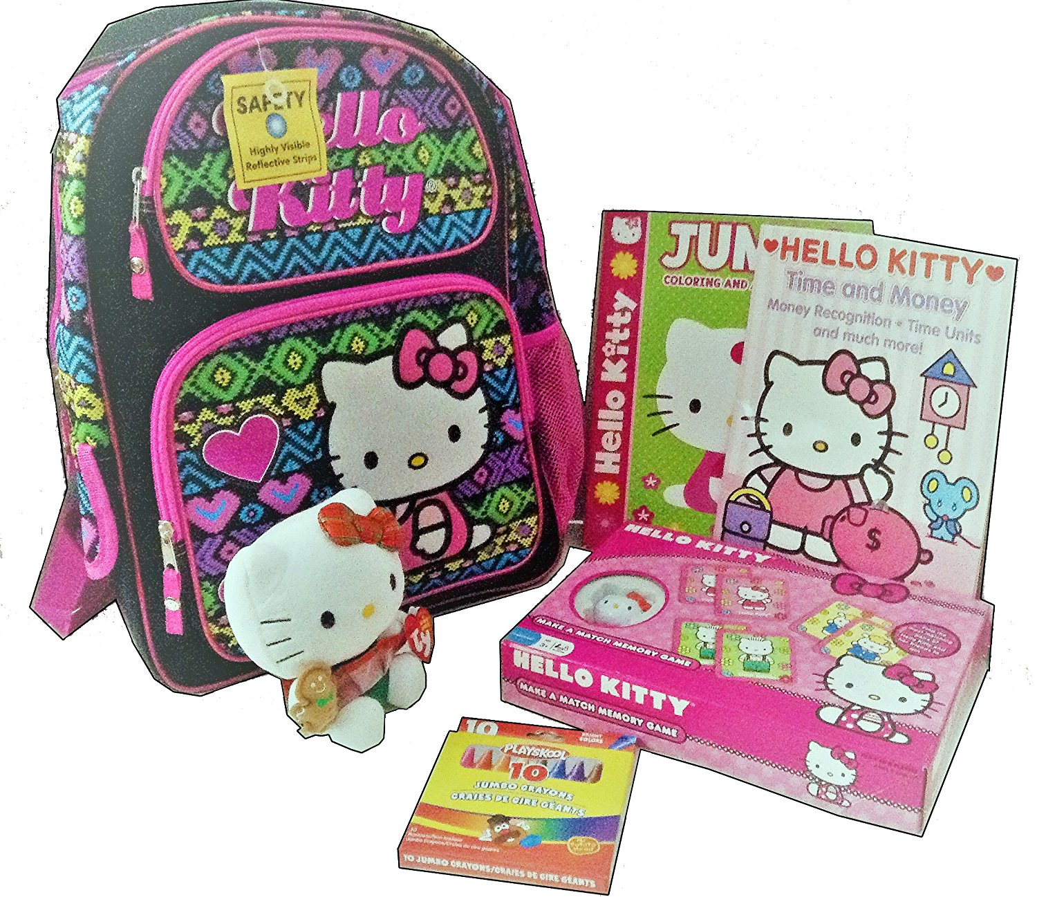 Toddler Size Hello Kitty Backpack- Fenix Toulouse Handball 5f87fd9cf4477