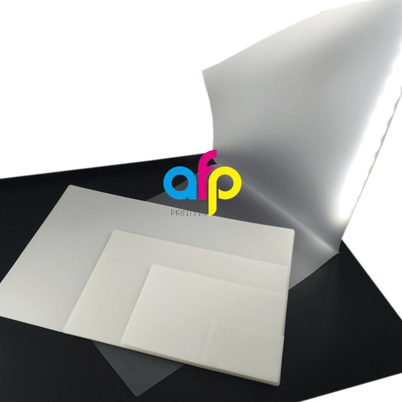 High Glossy Strong Bonding Laminating Pouches, Sheets Size A2/A3/A4/A5/A6/A7/A8/B4/B5