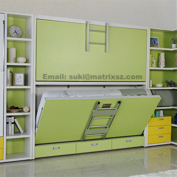 bed folding wall bed wall mounted bed with bunk bed design hidden wall