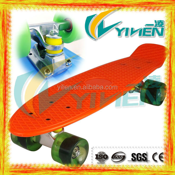 High Quality 22inch Cruiser Skateboard Factory Manufacturer Skatebaord with PU wheels