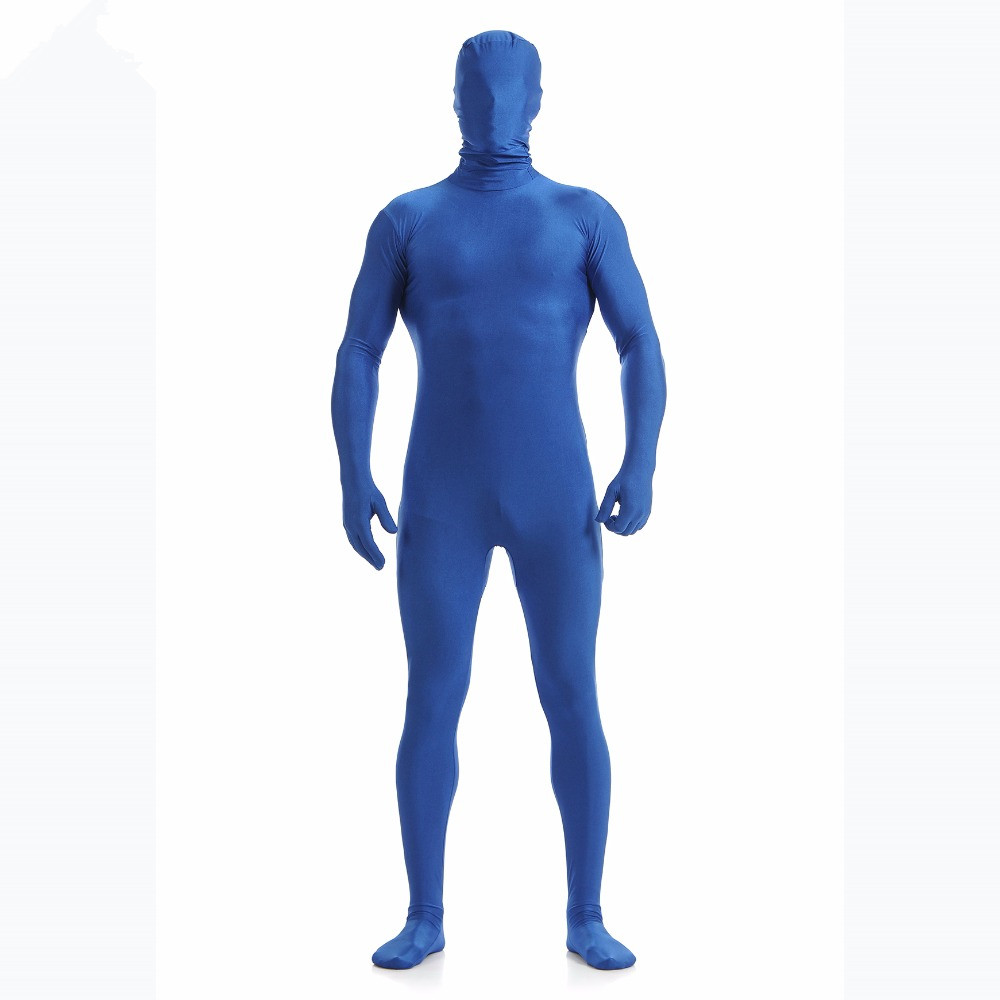 MOON BUNNY Men Nylon Lycra Zentai Custom Second Skin Tight Suits Full Body Spande Adult One Piece Cosplay Halloween Costumes who