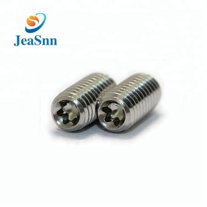 China Manufacturer Aluminum Small Security Torx Socket Set Screw