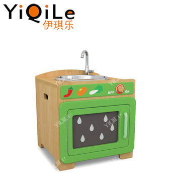 Beautiful Design Children Kitchen Toy Lovely Wooden Toys Attractive Used