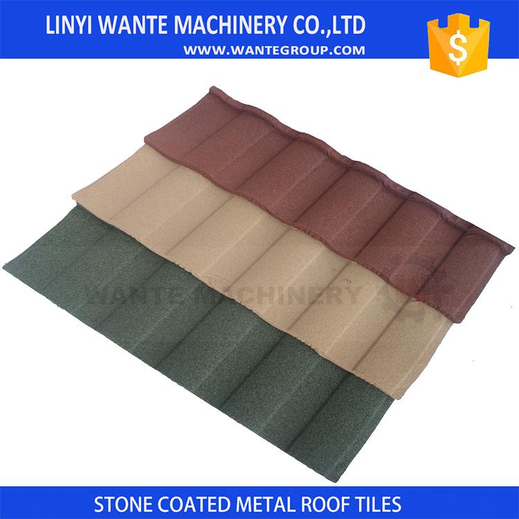 wante color de la mezcla de metal azulejo teja plana precio ms bajo para baldosas