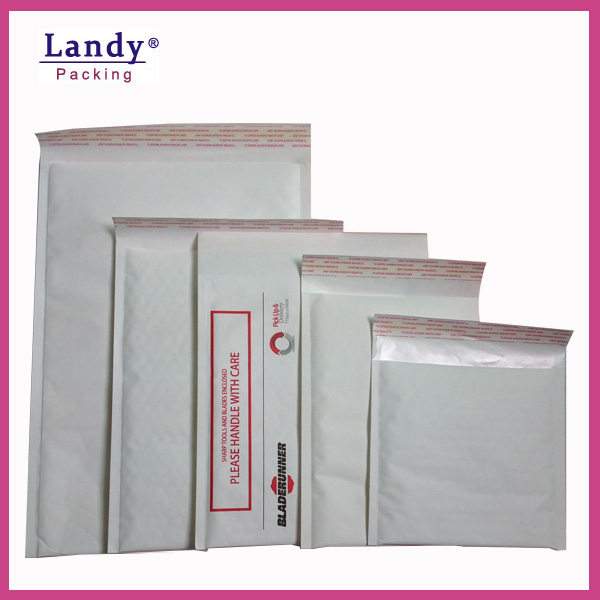Landy manufacturer Water-proof Custom Colored Kraft Bubble mailer