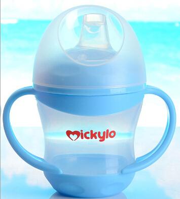 Прочный новая горячая ребенок drinkware воды зоопарк бутылки грин бэй сиппи учебные чашки мягкая стро 2 цвета с соломой
