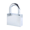 Shackle armored square key round edge body iron padlock