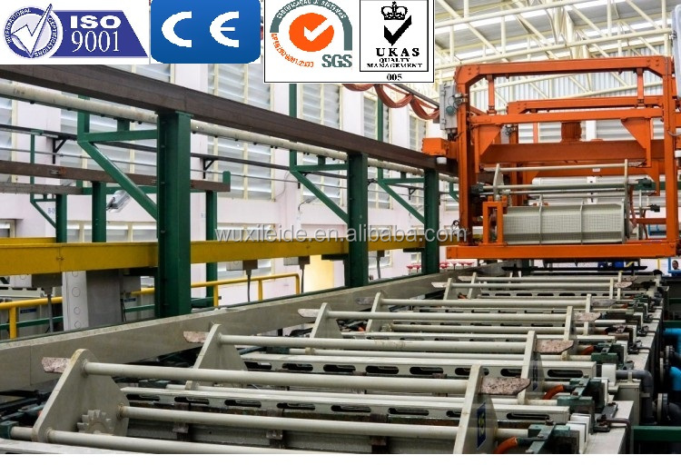 Automated Gantry Linear Type Barrel Nickel copper zinc Plating Line