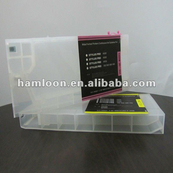 new and refill cartridge for epson 9880/7600/9600/R1800/R1900