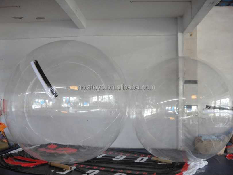 Hola transparent water ball price/water walking ball for inflatable pool/inflatable balls for people