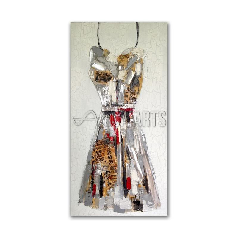 Birçok çinli Elbise Boyama Toptancıdan Toptan Fiyatına Online Elbise