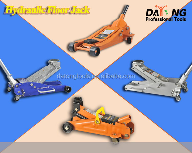 2t Mini Portable Floor Jack Vehicle Car Garage Auto ...