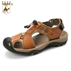 Factory Manufacture Wholesale Leather Outdoor Hiking Water Man Close Sandal