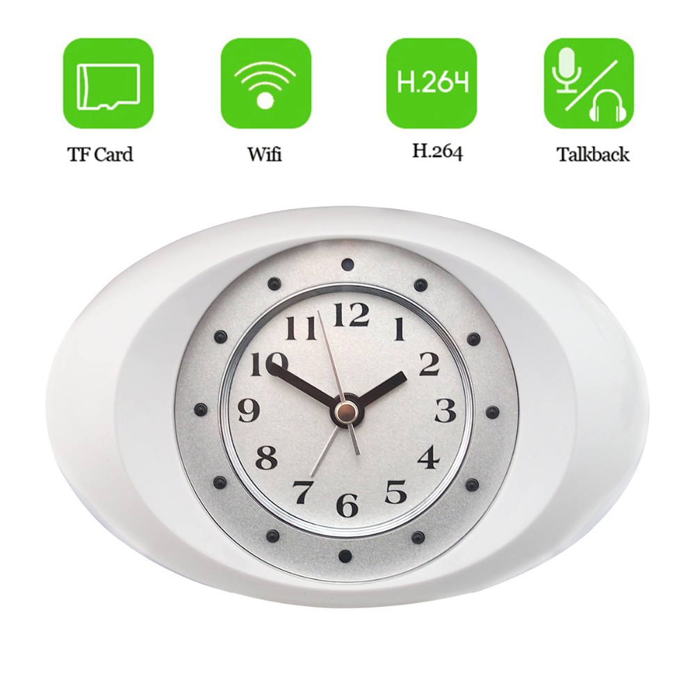Top rated home security spy camera clockspy camera alarm clock top rated home security spy camera clock spy camera alarm clock hd720p ip clock amipublicfo Images