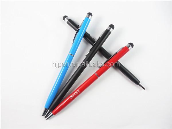 stylo bille multicolore