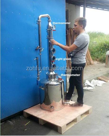 fractional distillation column/industrial distillation column for distillation column
