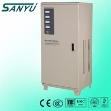 SANYU China wholesale SVC 10KVA electrical type ac 3 phase automatic voltage regulator price