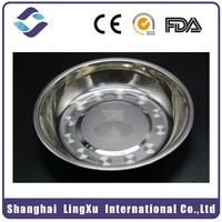 Plastic High Density Stainless Steel Plates Dishes With Quality
