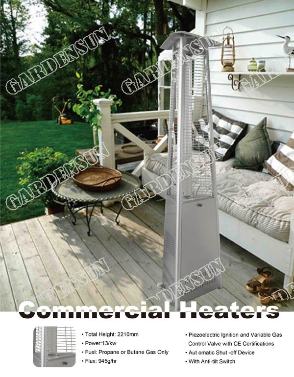Pyramid Gas Patio Heater Pyramid Gas Patio Heater