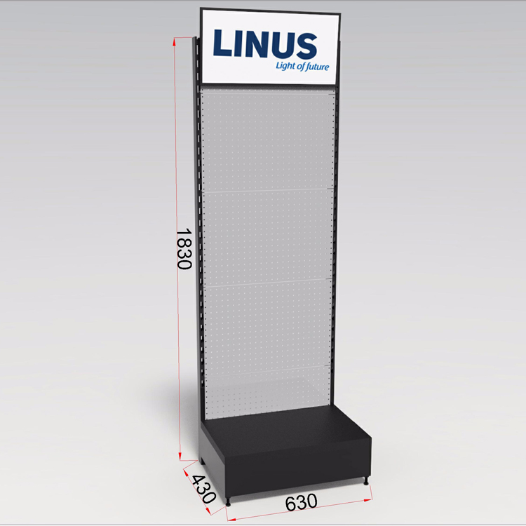 Customized Tool Display Stand hardware shelving For Hardware online <strong>Retail</strong> Shops