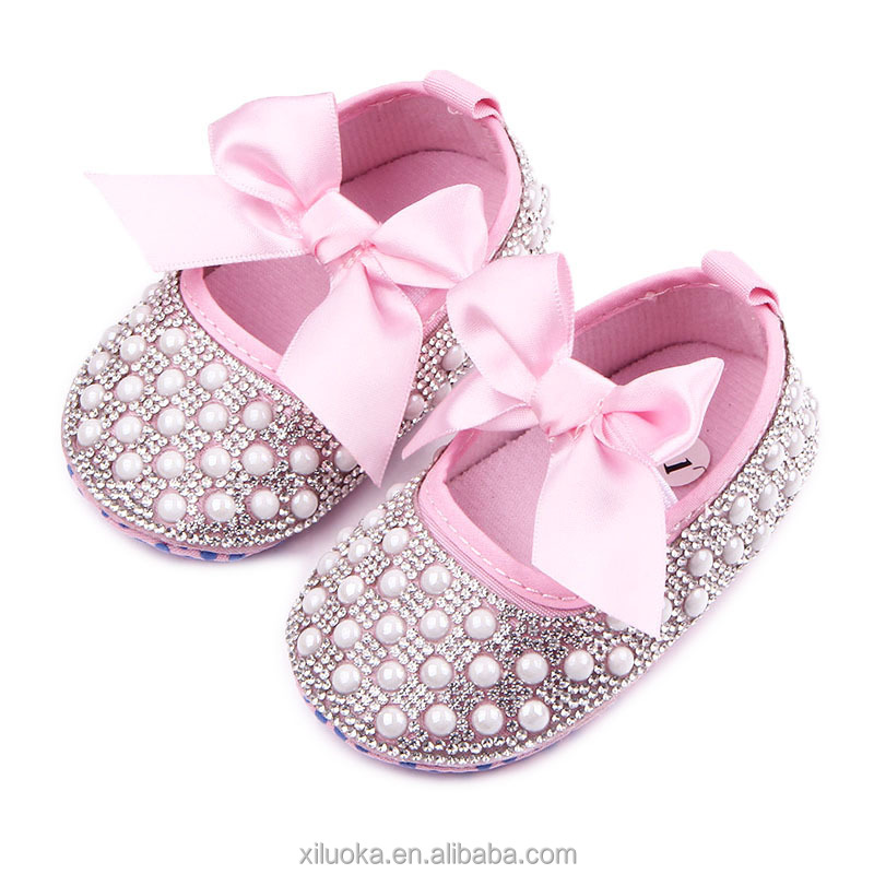 Girls first walker princess footwear pink mary jane baby shoes