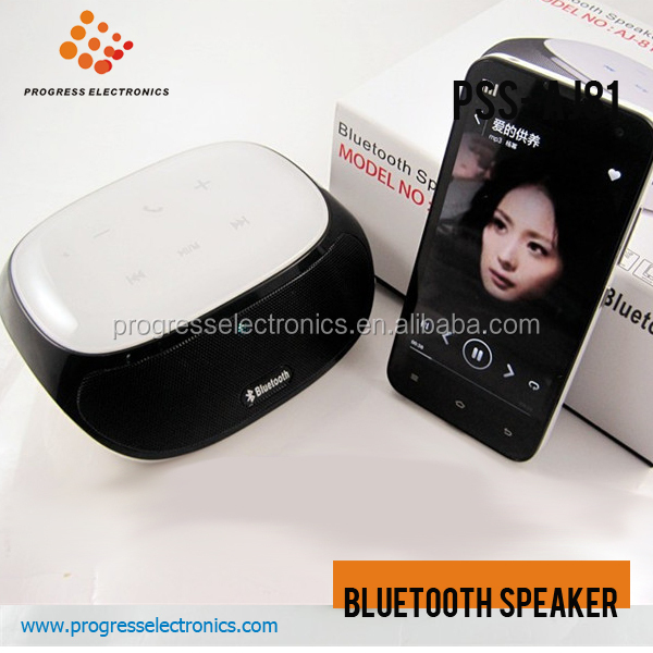 Aj81 speaker sem fio bluetooth mini, moda, 2014 novo design, BT speakers