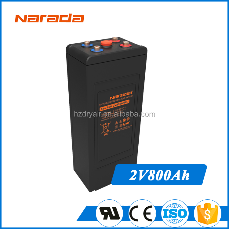 Black Horse 2V 800Ah Photovoltaic Sealed Lead Acid Battery