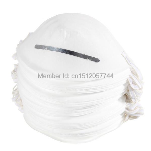 50 pcs/lot пыль маска одноразовый очищение литой лицо маски респиратора безопасный нет - токсичные