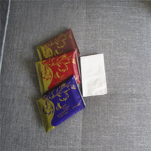 Cheap facial wallet pocket tissue pack tablet tissue paper