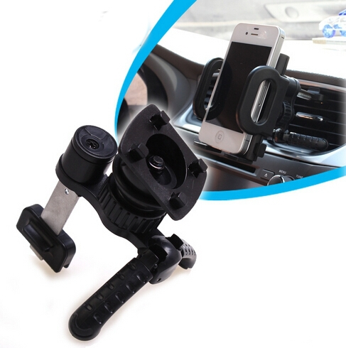 Universal Car Superior Phone Holder Phone Bracket 360 Degree Rotation Plastic  Car Interior