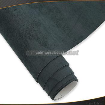 black adhesive fabric for car interior decoration sticker stretchable velvet car wrap vinyl film. Black Bedroom Furniture Sets. Home Design Ideas