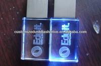 Popular Wedding Favors Usb With Led Light Show /crystal Usb ...