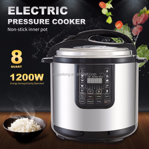 Gaotong Big capacity 8L 10L 12L ETL Intelligent Digital Electric Pressure Cooker