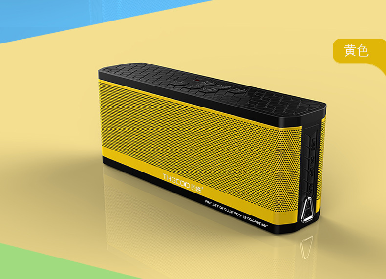 New design rain waterproof portable bluetooth speaker best bluetooth speaker for cell phone