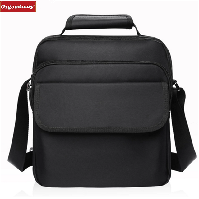 Osgoodway Waterproof Heavy Protective Cotton Oxford Wholesale Suppliers Custom Logo Shoulder Handbag for Men