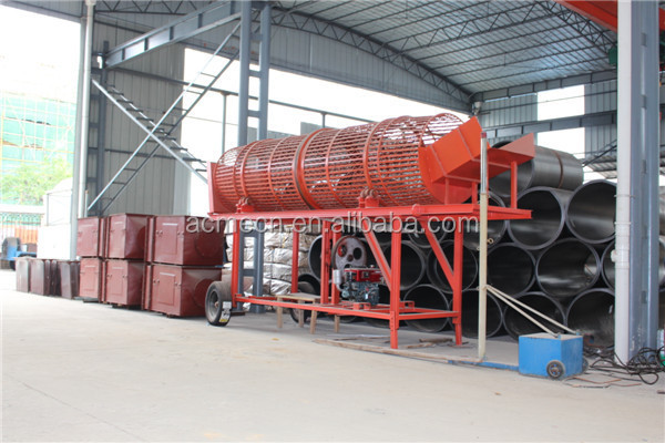 Automatic Cassava Potato Washing peeling machine