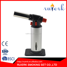 EK-037 Creme Brulee Torch Safety Lock Home Cooking and Chefs Torch Adjustable Flame lighters
