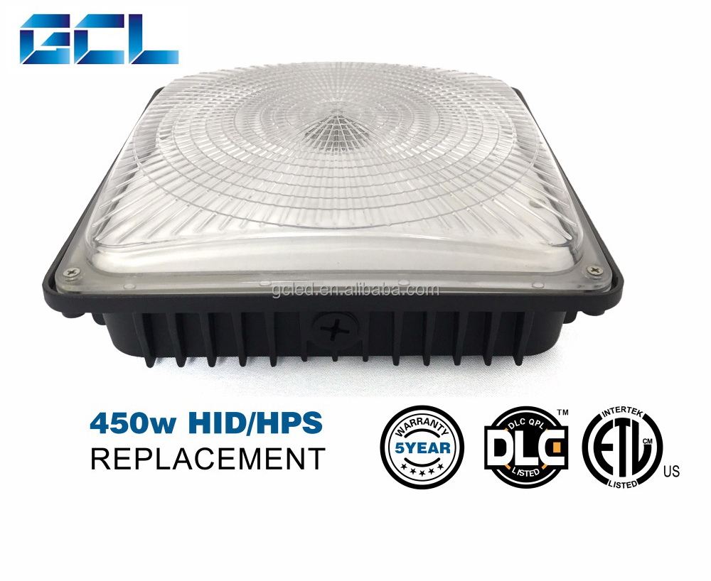 High quality gas station canopy manufacturers 135w led canopy light