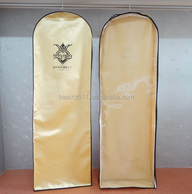 Bridal gown bags & bridal gown covers with printing
