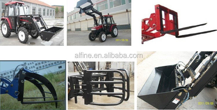 Agriculture machinery high quality front end loader for jinma tractors