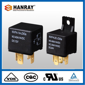 2018 New Dc Car Relay 24V 40A Flasher Automotive Micro
