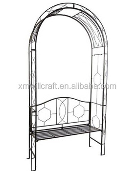Enjoyable Garden Bench With Wrought Iron Pergola Buy Wrought Iron Pergola Pergola With Garden Bench Wrought Iron Garden Pergola Product On Alibaba Com Squirreltailoven Fun Painted Chair Ideas Images Squirreltailovenorg