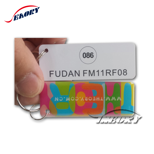 Personalizzabile carta del PVC con foro Intelligente IC/CPU mini card punch scheda Contatto
