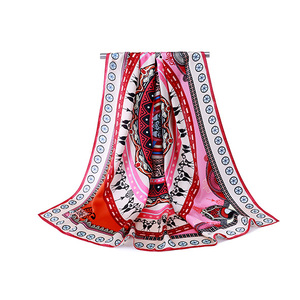 Wholesale 100% Pure Silk Custom Printed Scarves