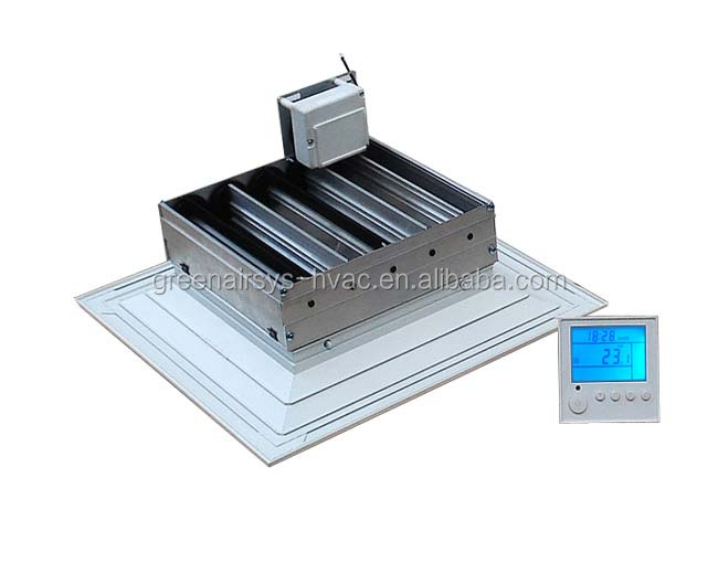 Air Conditioning Terminal Multi-directional Linear Slot Ceiling ...