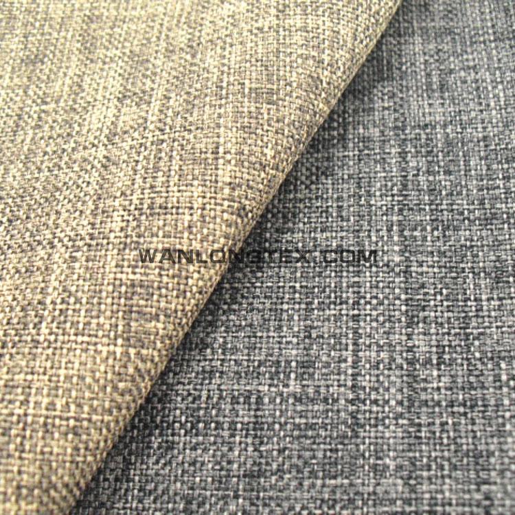 Imitation Faux Lin Tissu Pour Canapé, Hometextile Et Du0027ameublement