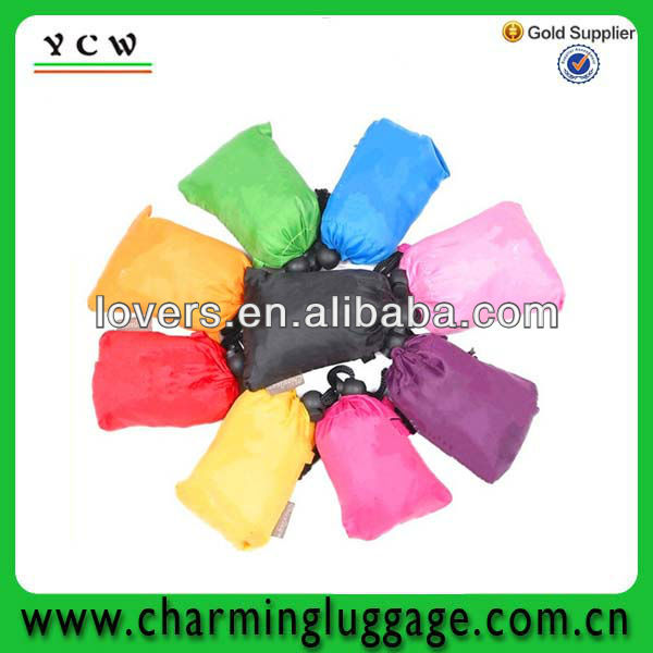 promotion foldable duffle bag recycle bag/foldable shopping bag